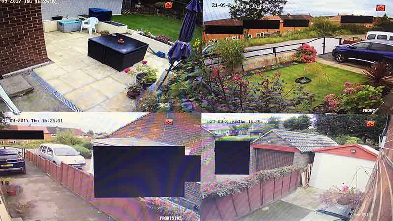 Home CCTV Install, Pudsey, West Yorkshire - Monitor