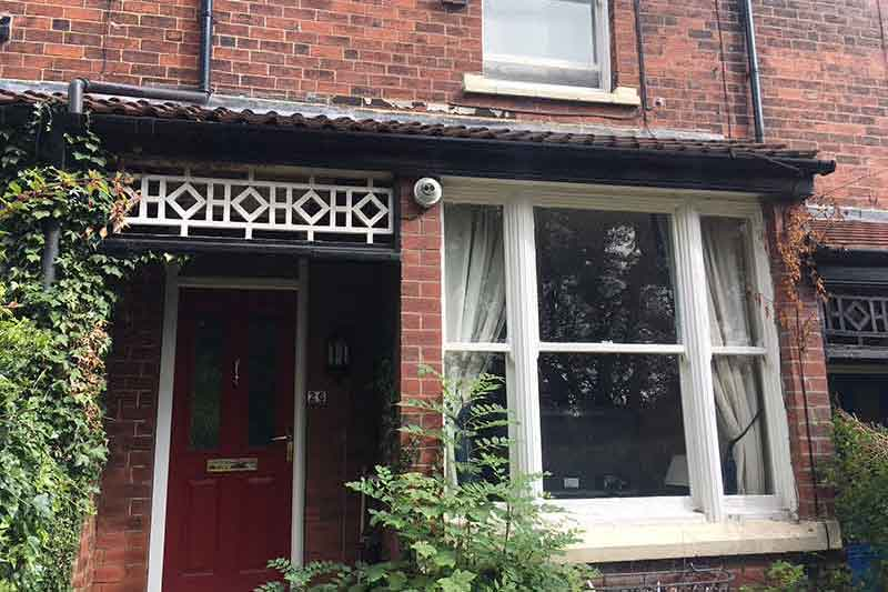 Home CCTV Install - Roundhay, Leeds, Yorkshire - Photo of Camera