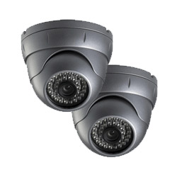 2 Dome Camera CCTV System for Homes - Zone CCTV