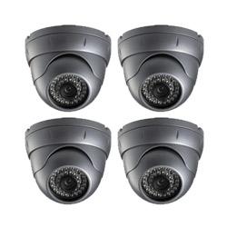 4 dome CCTV cameras - Home CCTV