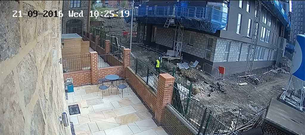 Hire CCTV For Construction