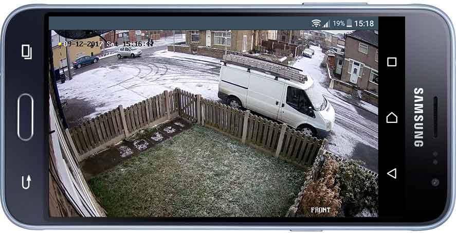 CCTV on Smartphone
