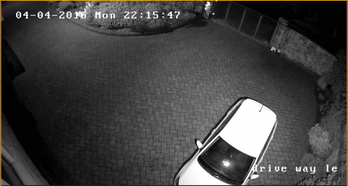 CCTV of Driveway Leeds