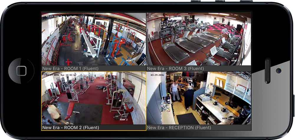 Smartphone CCTV Monitoring Leeds