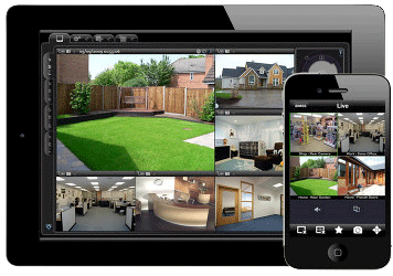 View CCTV on your Smartphone or Tablet