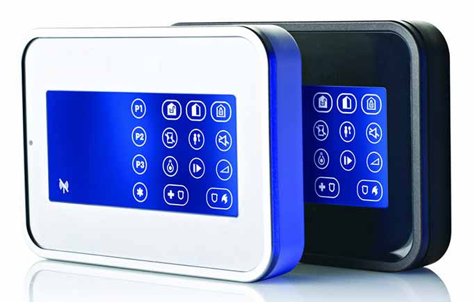 Wireless Burglar Alarm Panel - Zone CCTV