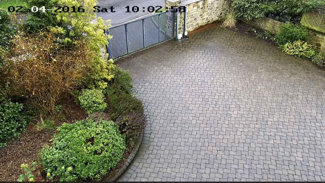 Zone CCTV Photo Library - Front Drive