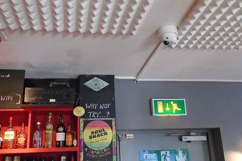 CCTV for bar in Leeds, West Yorkshire