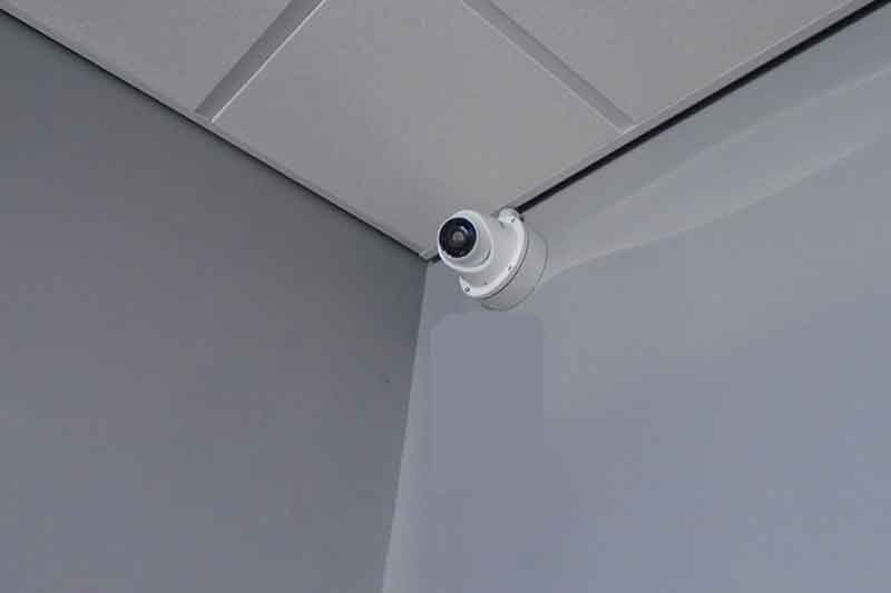 Commercial CCTV Camera install at Farmfoods in Doncaster
