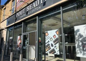 Commercial CCTV Camera Install at Leeds beauty shop