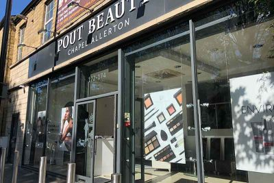 Commercial CCTV Camera Install at Leeds beauty shop