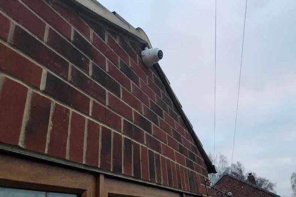 CCTV Install Huddersfield - 2 Camera Install - Zone CCTV