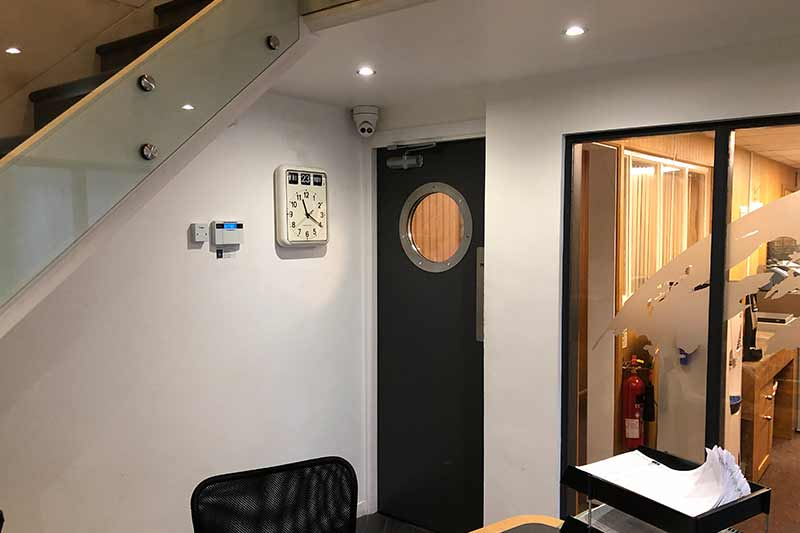 Commercial CCTV Install - Spa World, Leeds factory