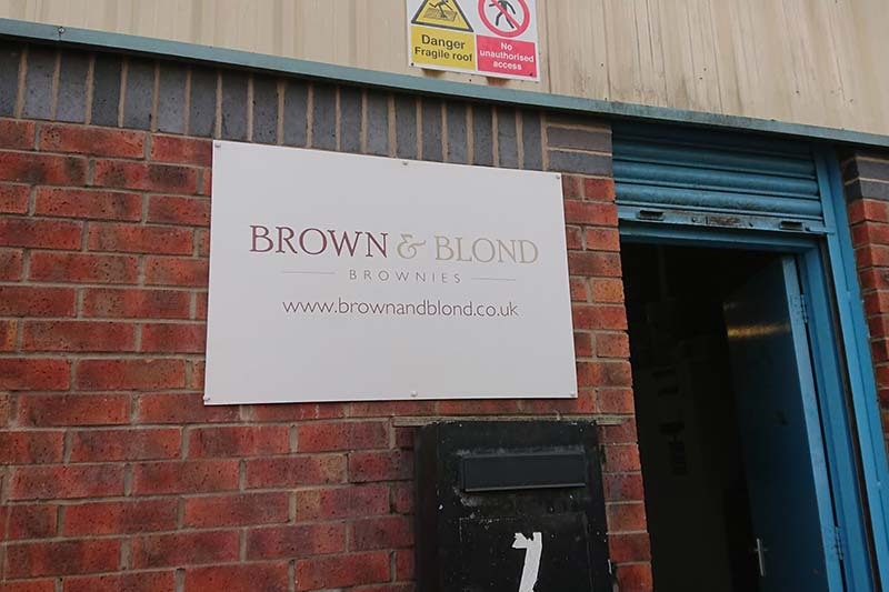 Commercial CCTV Install - Brown & Blond Cake Factory in Leeds (LS12)