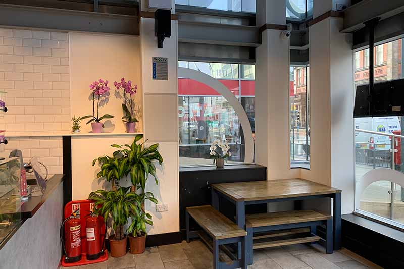 Commercial CCTV Install - Chatime - Leeds City Centre (LS1)