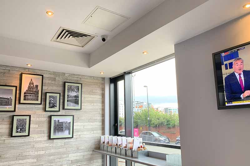 Jury's Inn Hotel, Leeds - Commercial CCTV Installation