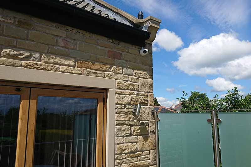 Pudsey Home CCTV Installation - Leeds - Zone CCTV