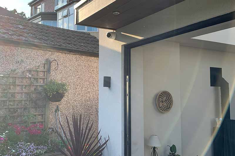 Weetwood Home CCTV Installation - Leeds - Zone CCTV