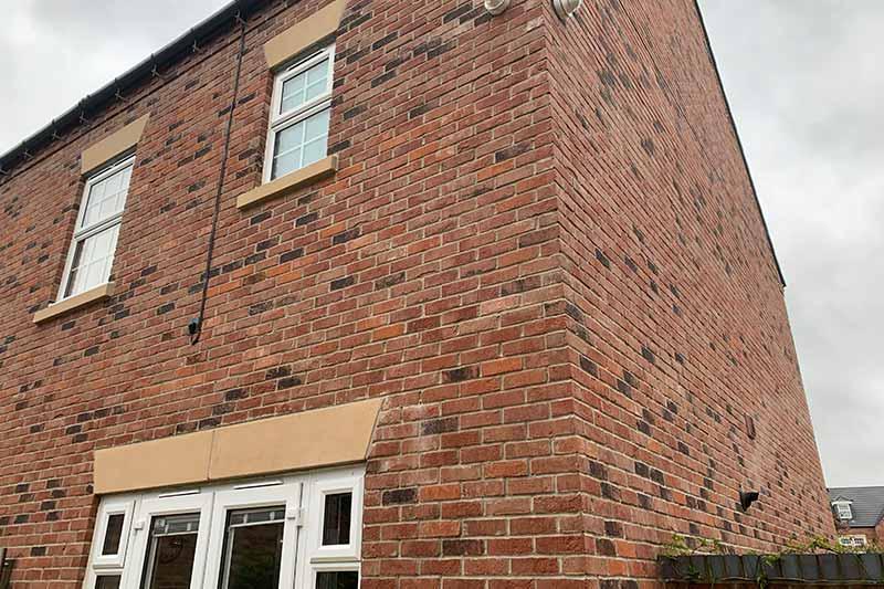 Adel CCTV installation new build property Leeds - Zone CCTV