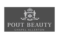 Pout Beauty - Commercial CCTV Leeds - Client Logos
