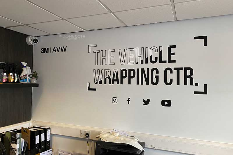Commercial CCTV Vehicle Wrapping Centre Leeds, LS27