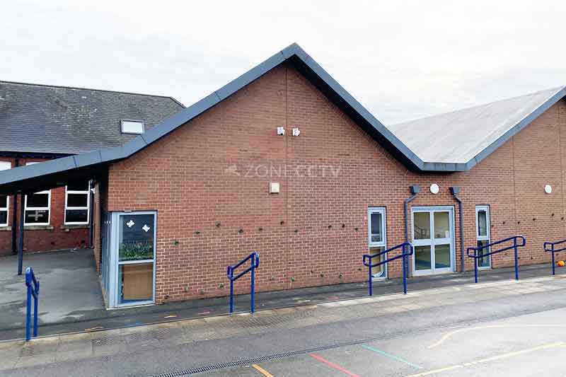 Commercial CCTV Installers based in Leeds install Cameras at a Primary School in Wakefield