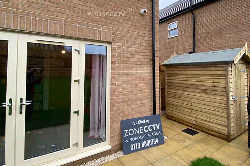 Home CCTV installation in Roundhay, Leeds (LS8)