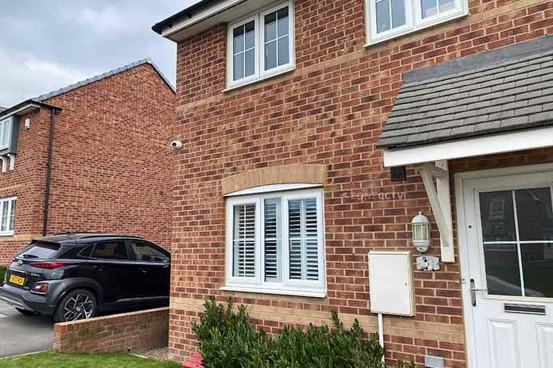 Home CCTV Morley, Leeds, LS27 April 2021